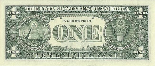 Знаки на долларе