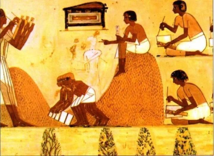 статистика на пальцах в Древнем Египт