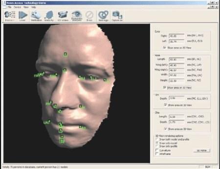 трехмерное изображение лица