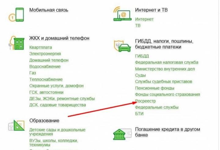 Скриншот с онлайн-кабинета Сбербанка