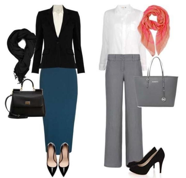 Фото: пример женского костюма для собеседования