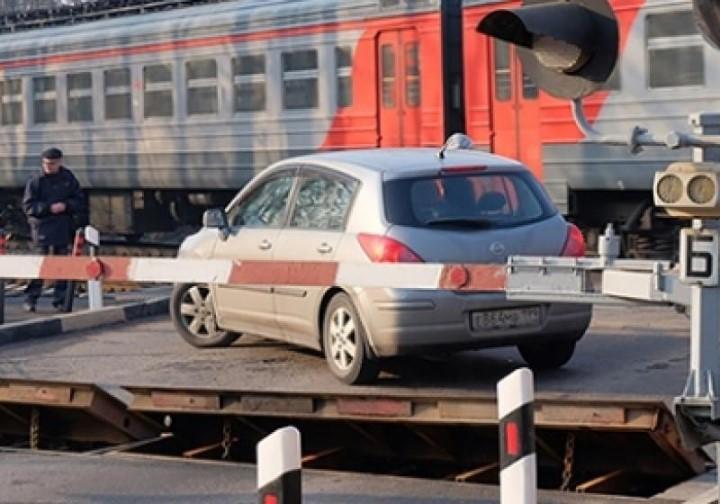 Нарушение правил пересечения железнодорожного переезда