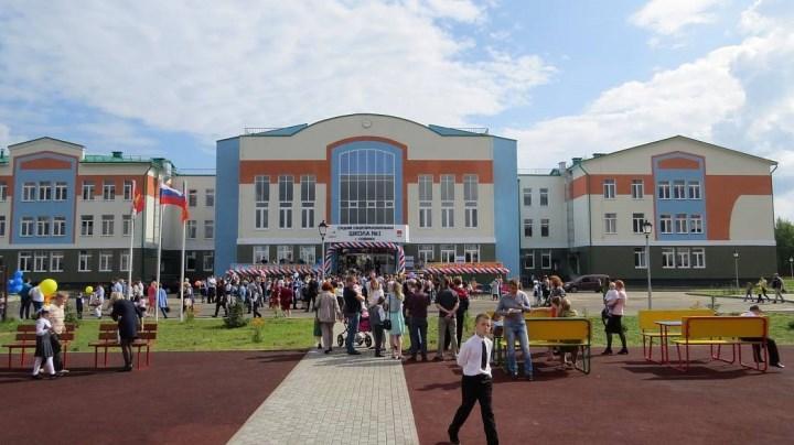 Самая большая новая школа Владимирской области. Источник: департамент образования