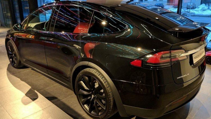 Фото: Тесла Model X. Источник: moscowteslaclub.ru