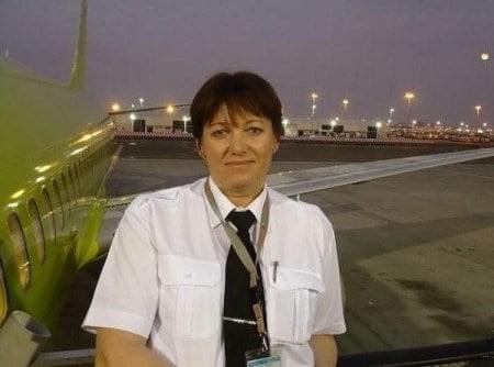 Татьяна Рыманова – пилотесса «Боинга».