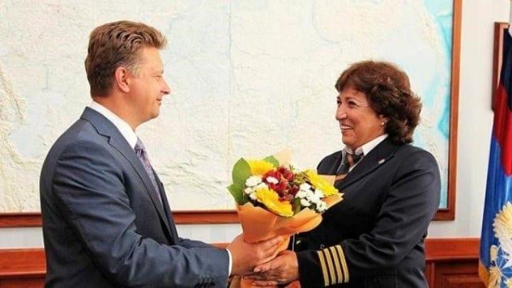 Заслуженный пилот РФ Ольга Ивановна Грачёва