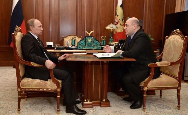 рабочая встреча с Владимиром Путиным, апрель 2015 г.
