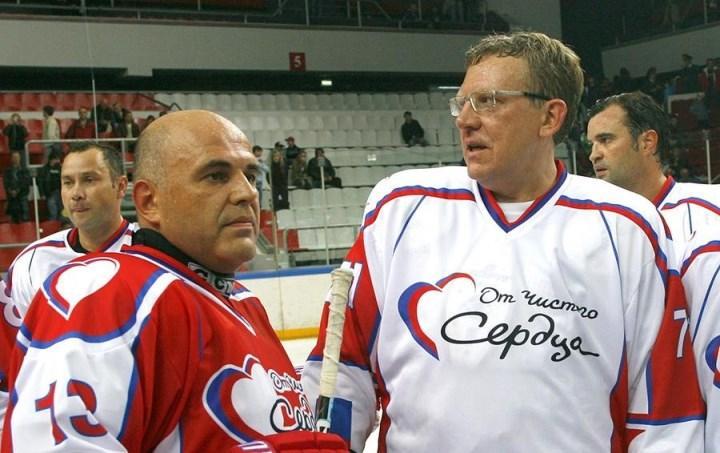 с А. Кудриным, сентябрь 2010 г.