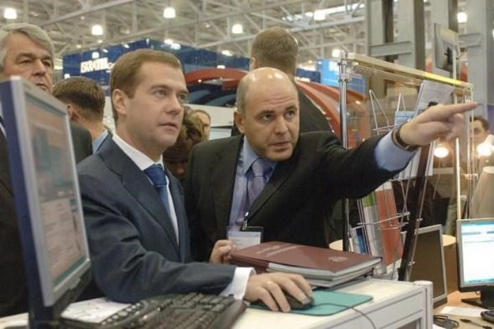 с Дмитрием Медведевым, 2006 г.