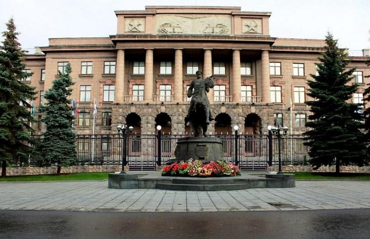 штаб ЦВО в г. Екатеринбурге