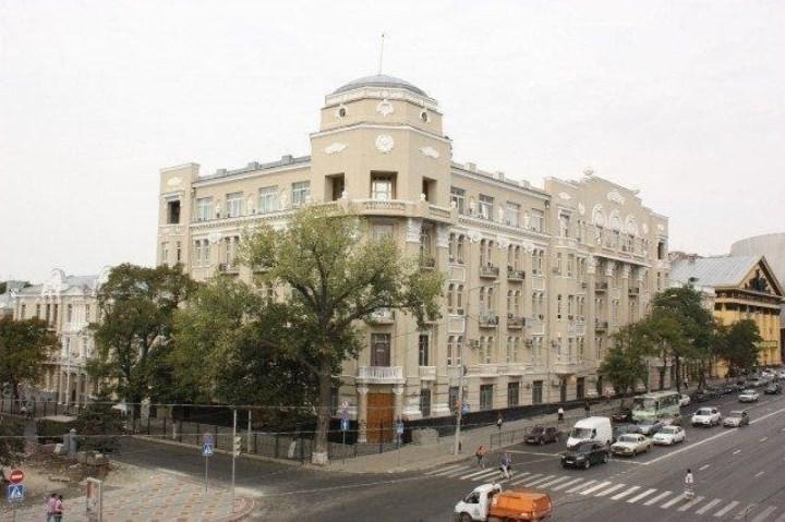 штаб ЮВО в г. Ростов-на-Дону