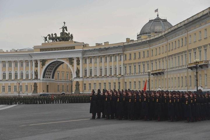 штаб ЗВО в г. Санкт-Петербург.