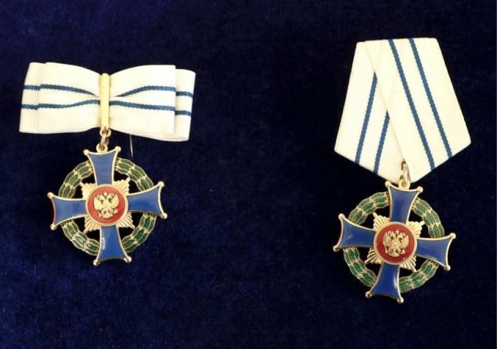 Фото: женский и мужской ордена