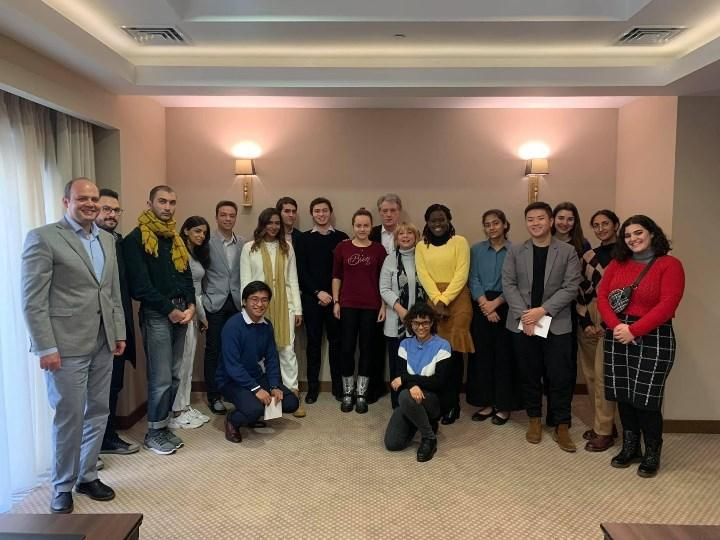 встреча со студентами Университета Абу-Даби в Одессе