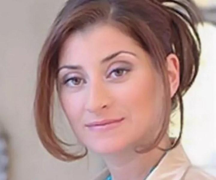 дочь второго президента Грузии Манана в молодости