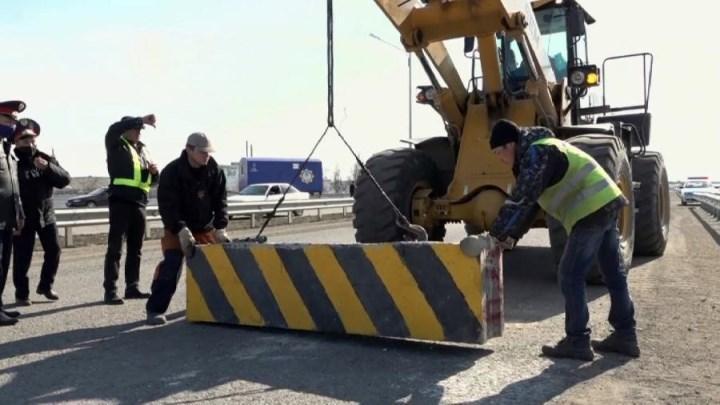 въезд и выезд для многих городов РК перекрыт блокпостами
