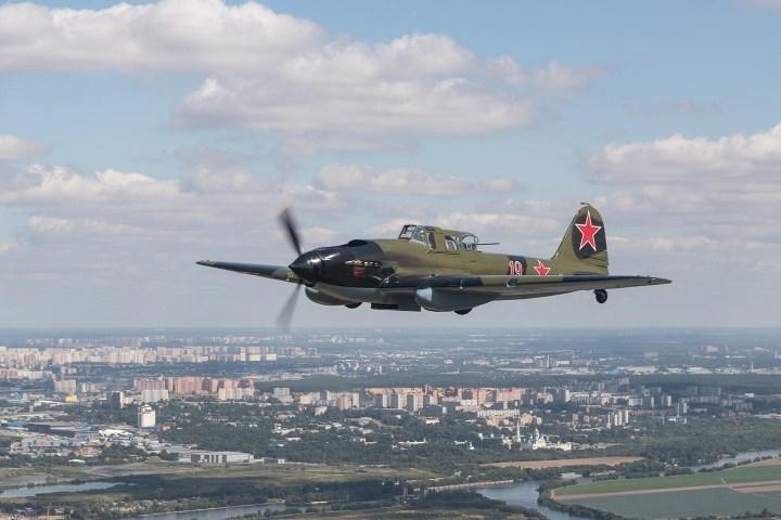 восстановленный в Новосибирске Ил-2