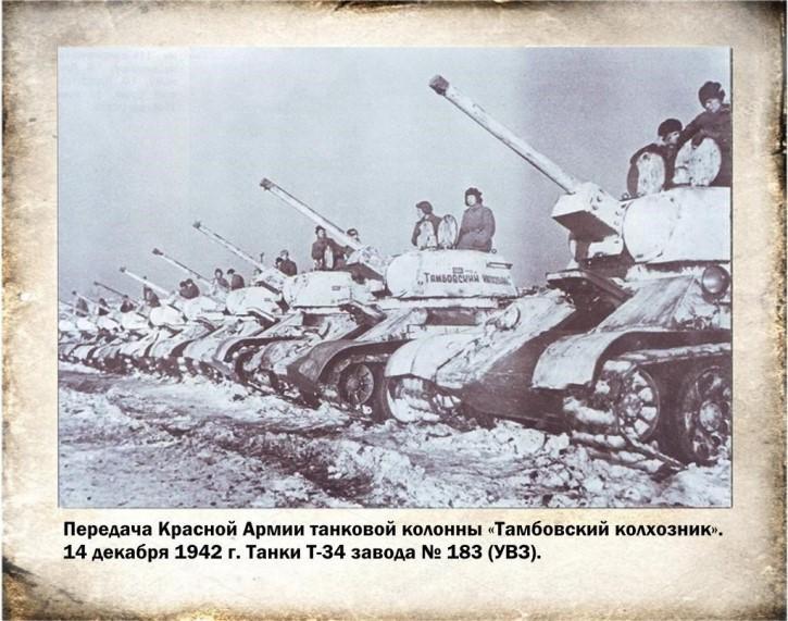 Передача танков армии