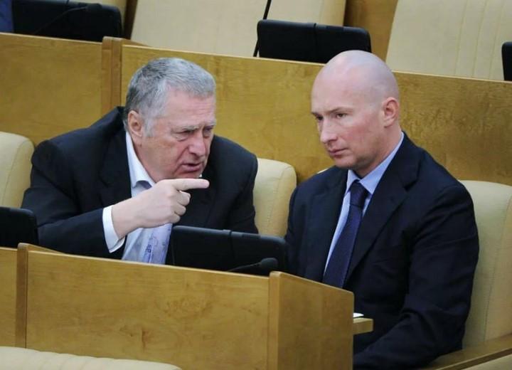 Жириновский с сыном