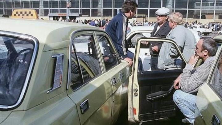 Как работали советские таксисты