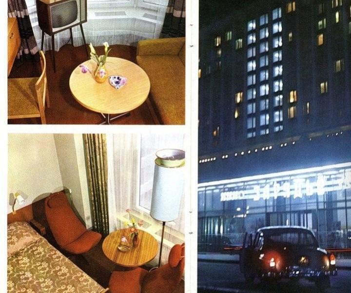На контрасте с небогатыми региональными отелями