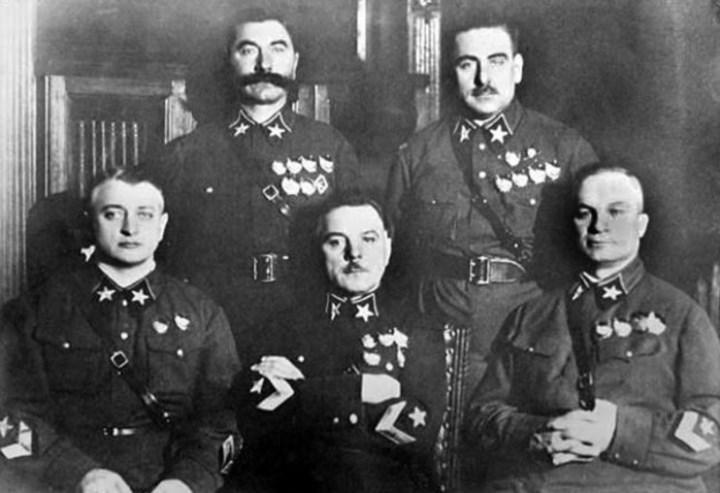 Тухачевский, Ворошилов, Егоров