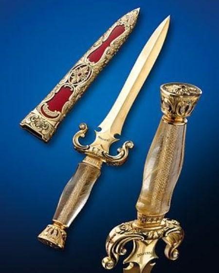 еще один нож из художественной коллекции Buster Warenski