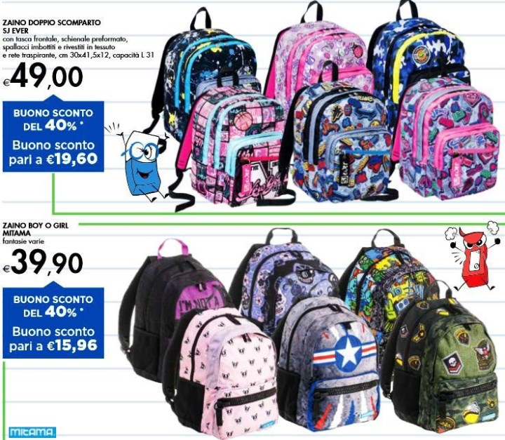 Цены на рюкзаки