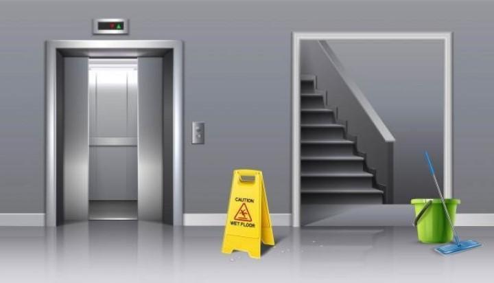 Лестничные площадки, марши, лифты