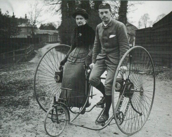 велосипеды до революции были очень экстравагантными